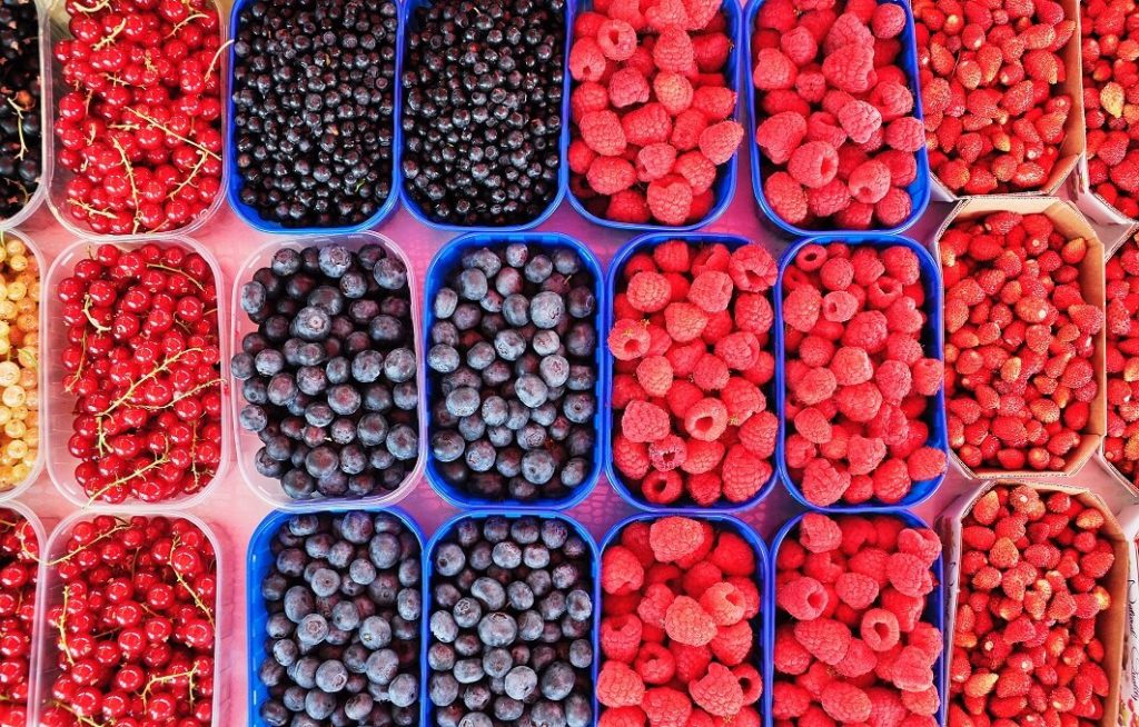 alimentos antiaging frutos rojos