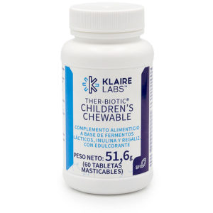 ther-biotic children chewable probiotico niños